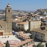 El pueblo de Escatrón en Aragón