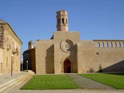 Monasterio de Nuestra Señora de Rueda en Sástago
