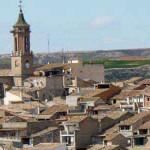 Pueblo de Sástago en Zaragoza