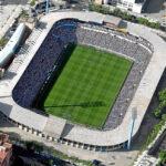 Estadio de la Romareda en Zaragoza
