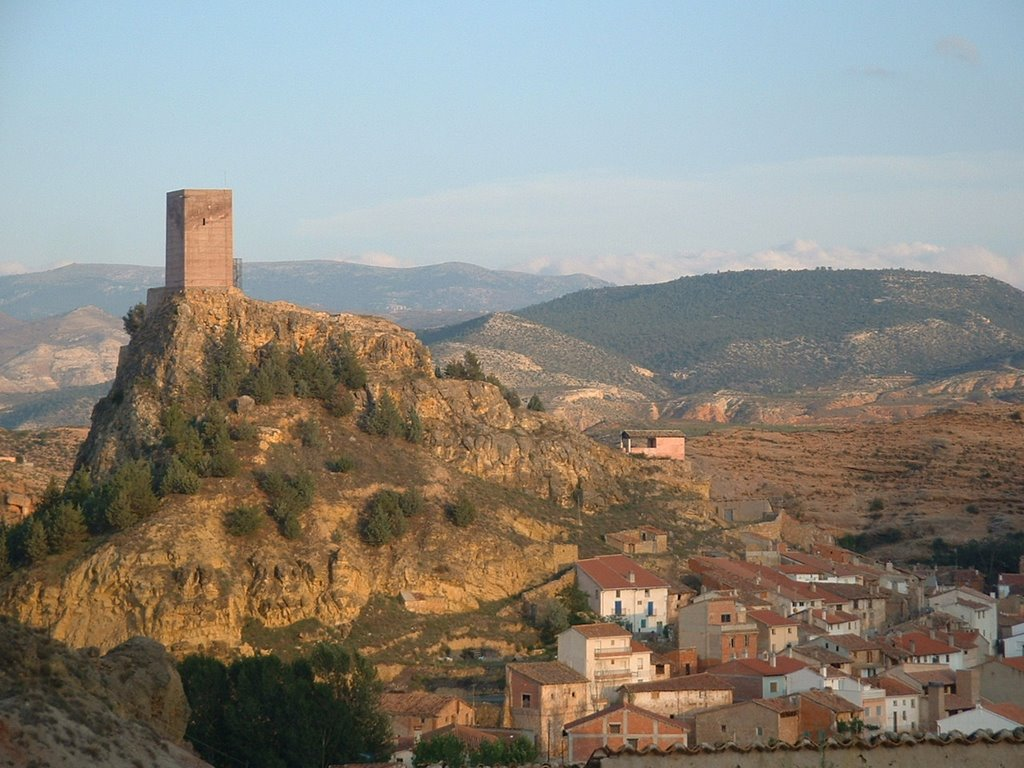 Castle and Village in Aragon