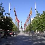 La Plaza de Aragón en Zaragoza