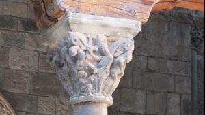 capitel-columna-catedral-de-jaca