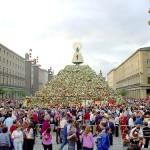 La Ofrenda Florar a la Virgen del Pilar